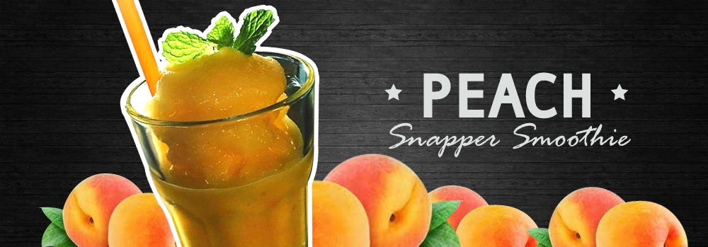 Peach Snapper Smoothie