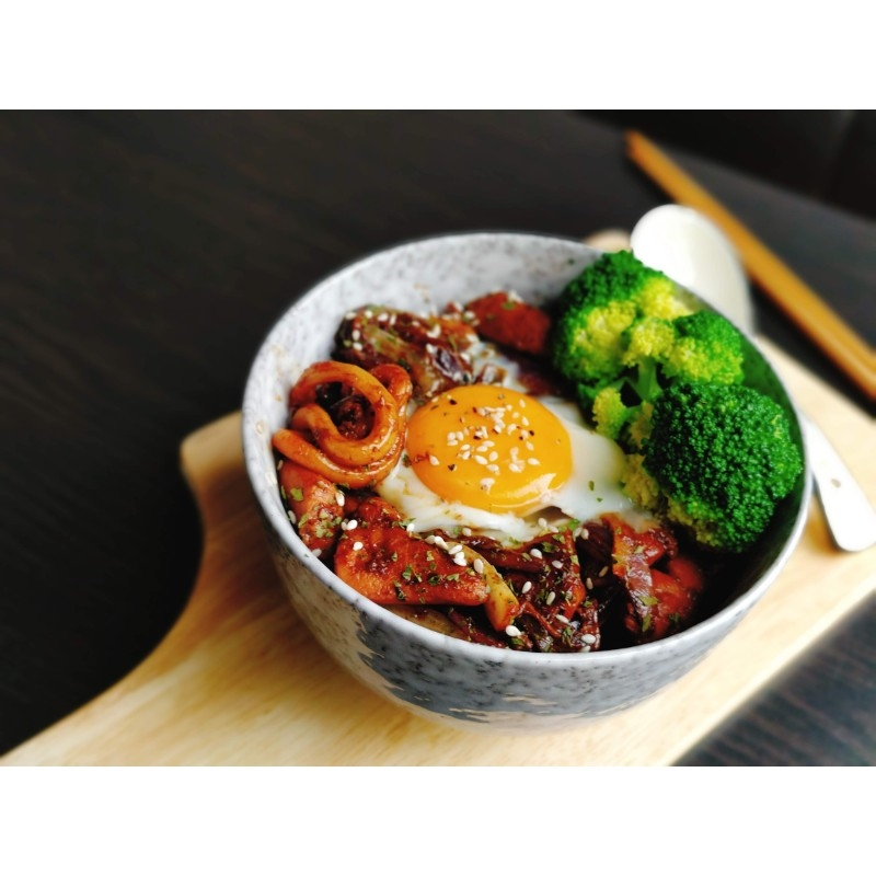 Teriyaki Chicken Udon Bowl