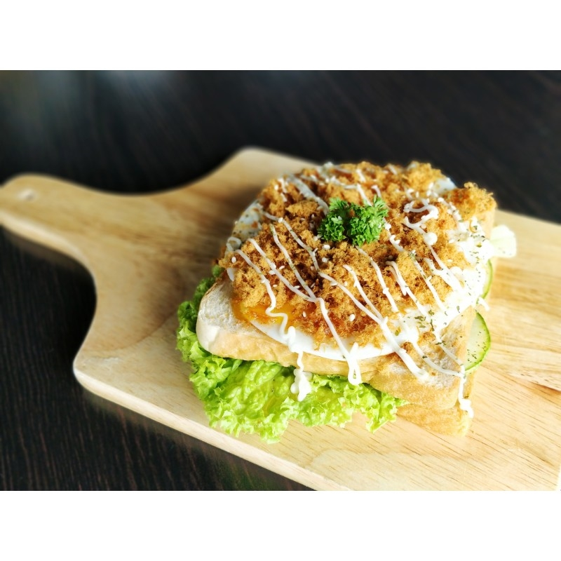 Chicken Floss Toast